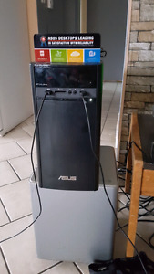 Asus desktop. Fast....powerful....awesome.