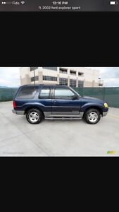 2002 Ford Explorer sport 156kms low kms upgraded stereo PRICED T