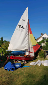 Scorpion Dinghy 1646 with Combi Trailer