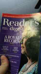 Looking for readers digest books.