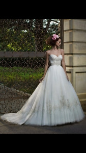 wedding dress size 4 $1,000 from Diva Bridal Boutique