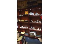 8 WOODEN SHOP DISPLAY WITH LIGHTING UNIT FOR SELL