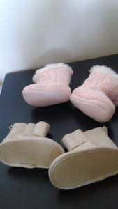 Babygirl shoes both for $5