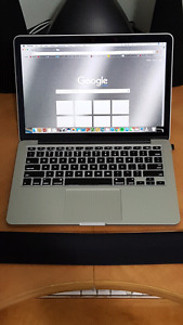 "Macbook Pro 13"" Mid 2014 Retina Display Top Of The Line!"