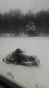 96 Ski Doo Mach 1 670 trade for four wheeler or truck