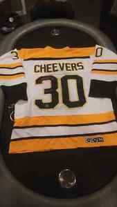 Gerry Cheevers Autographed Jersey London Ontario image 4
