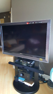 Sony Bravia with stand