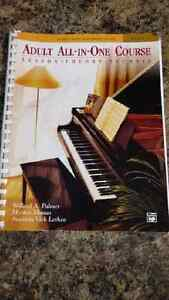 Adult learn to play piano book