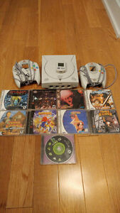 Sega Dreamcast console and games, starting at $15