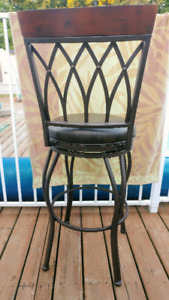 "REDUCED**PALMERO BAR STOOL*** ""AMERICAN HERITAGE BILLIARDS CO."""