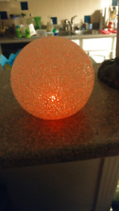 Kids light changing ball for the kids room