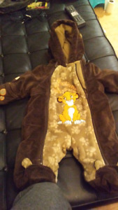 Lion king baby suit