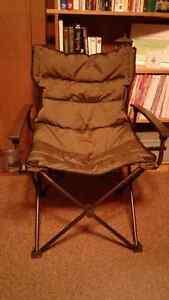 Ensemble de 4 chaises pliantes coussinées