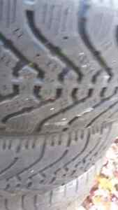 185/70/14 - 4 winter tires with rim West Island Greater Montréal image 4