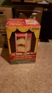 Fs  DVD  brand new  blu ray movie theatre style popcorn machine