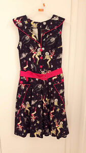 VINTAGE INSPIRED SCI-FI PINUP DRESS BRAND NEW WITH TAG West Island Greater Montréal image 3