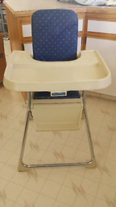 Fisher Price Folding High Chair