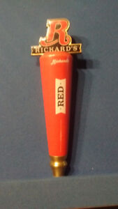 Rickards Red collectable draft tap handle.