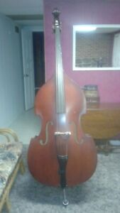 3/4 size stand up Bass with pickup