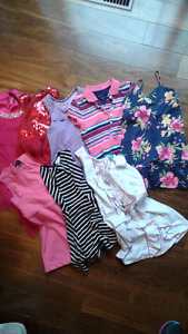 Lot de vêtements fille