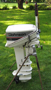 JOHNSON 15HP OUTBOARD MOTOR (1987)