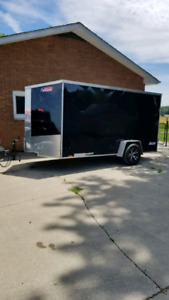 12 ft enclosed trailer