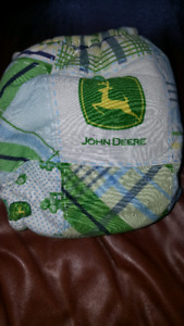 John Deere cloth diaper