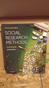 Social Research Methods 4th Canadian Edition