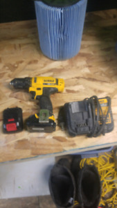 12v dewalt drill and charger