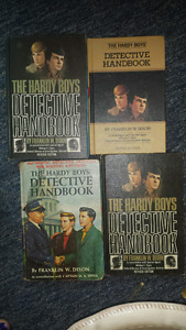 Hardy Boys books - very old, collectible