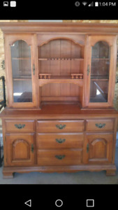 2 Piece Hutch Needs a New Home. Feel free to make an offer.