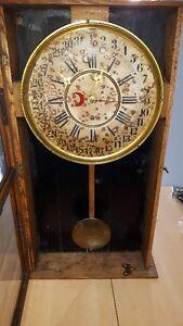 tres ancienne horloge gilbert clock  1880-1895