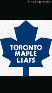 2 LEAFS TICKETS FOR SALE