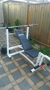 Bench press fitness exercise gym machine equipment workout