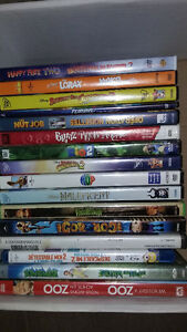 Kids movies 20.00 or BO