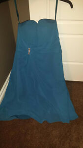 Blue Bridesmaid/Grad Dress