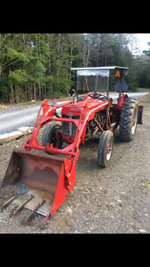 1956 Massey Ferguson with papers