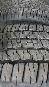 We sell these 4 new Wrangler Summer Tire 265/70/17