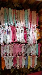 **À donner** Vêtements pour bébé fille de la naissance à 12mois