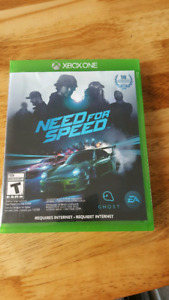 Need for speed sur xbox one