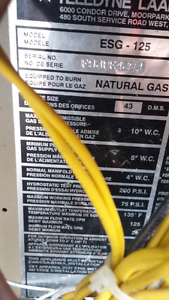 Gas pool heater for sale