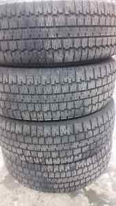 4 BFGoodrich Winter Slalom tires P205/70R15 Kitchener / Waterloo Kitchener Area image 3