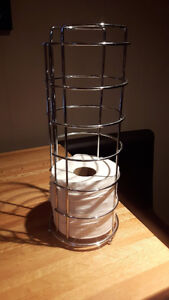 3 - Roll toilet paper holder