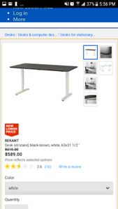 Ikea adjustable desk auto