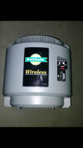 Petsafe wireless pet containment system with collar!