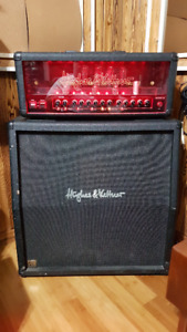 Hughes and Kettner Warp X Tube Amp Head and Cab