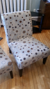 2 chairs $100.00 for both