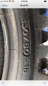 Dirt bike tire