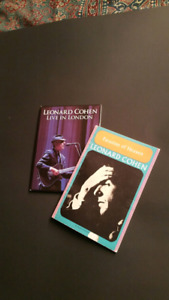 Leonard Cohen DVD & Book of poetry