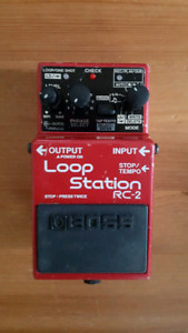 FS/FT Boss rc 2 looper